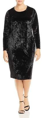 MICHAEL Michael Kors Crushed Velvet Dress