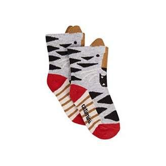 san francisco 2a28b 9890f Catimini Baby Boys Chaussettes Pour Calf Socks, White (Bleu Broken 19), (
