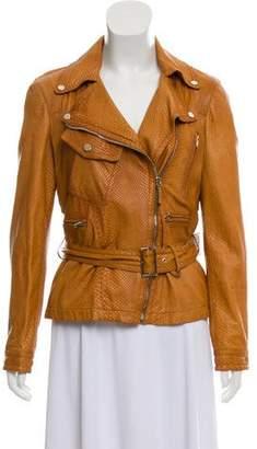Gucci Python Leather Jacket