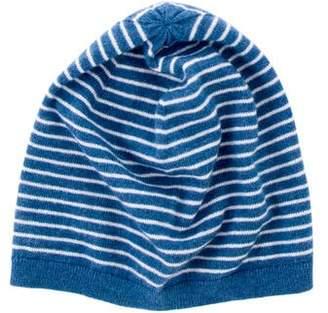 Burberry Boys' Cashmere-Blend Striped Beanie