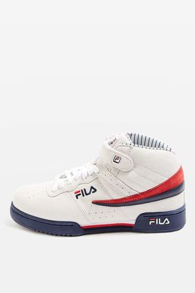 Fila F13 pin stripe trainers $140 thestylecure.com
