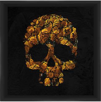 PTM Images Gold Skull