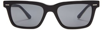The Row X Oliver Peoples Rectangular Acetate Sunglasses - Womens - Black