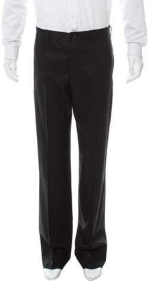 Helmut Lang Flat Front Virgin Wool Pants