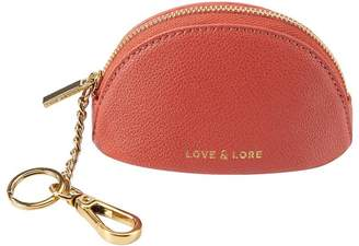 Love & Lore LOVE AND LORE DOME COIN PURSE KEYCHAIN TERRACOTTA