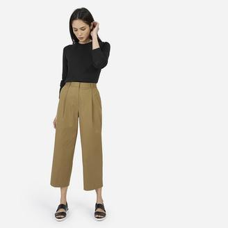 The Twill Crop Pant $78 thestylecure.com