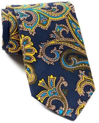 Tommy Hilfiger Paisley Slim Tie $65 thestylecure.com