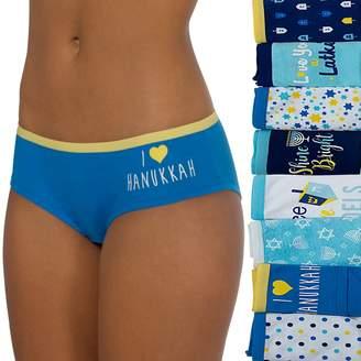 So Juniors' SO 8-Pack Hanukkah Panties Holiday Box