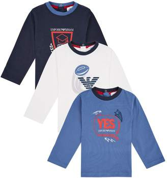 Emporio Armani LogoT-Shirt (Pack of 3)