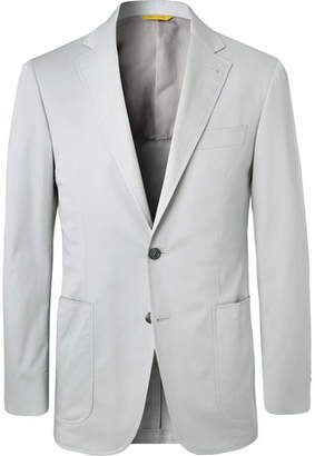 Stone Kei Slim-Fit Stretch-Cotton Twill Suit Jacket
