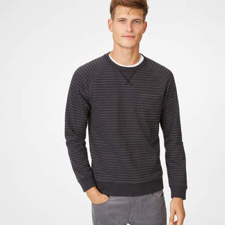 Club Monaco Stripe Sweatshirt