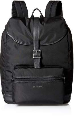 Armani Jeans Men's Canvas Backpack
