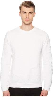 Versace Logo Textured Sweatshirt Men's Sweatshirt