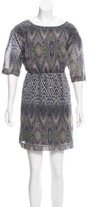 Gryphon Printed Mini Dress