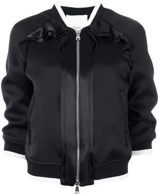 3.1 Phillip Lim Ruffle-trim bomber jacket