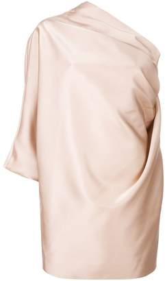 Marc Jacobs one shoulder shift dress
