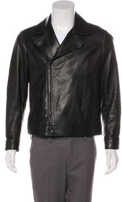 Saint Laurent Lambskin Leather Jacket