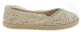 Time and Tru Women's Crochet Slip On Flat