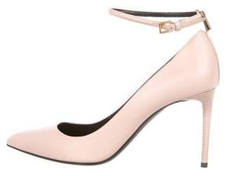 Tom Ford Pointed-Toe Leather Pumps