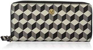 Anne Klein Slim Zip Around Small Wallet $48 thestylecure.com