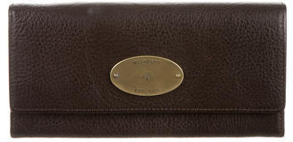 Mulberry Pebbled Leather Wallet $175 thestylecure.com