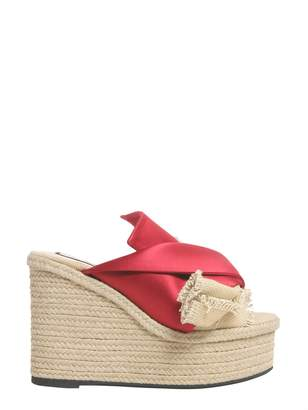 N°21 Mule Sandals With Satin Bow