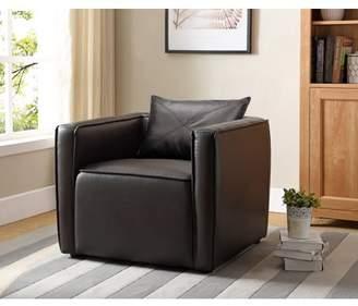 Furniture Of America Furniture of America Tureo Dark Gray Accent Chair