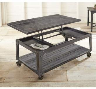 Steve Silver Sherlock Lift Top Cocktail Table with casters