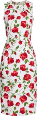 Michael Kors Crewneck Sheath Dress