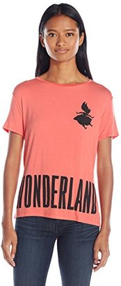 Disney Women's Alice in Wonderland High-Low T-Shirt $17.50 thestylecure.com