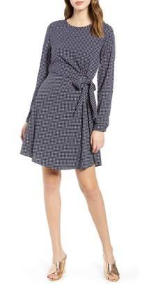 Vero Moda Square Print Fit & Flare Dress