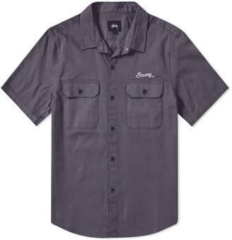 Stussy Short Sleeve HBT Work Shirt
