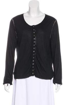 Yigal Azrouel Distressed Layered Top
