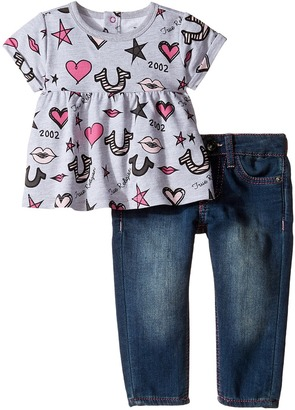True Religion Kids Lips and Stars Dress Set (Infant/Toddler) $79 thestylecure.com