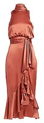 Cinq à Sept Women's Winona Halterneck Midi Dress
