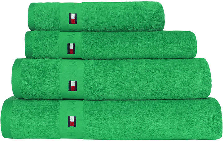 Plain Green Range Towel - Bath Towel