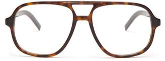 Christian Dior Sunglasses - D Frame Acetate Glasses - Mens - Brown