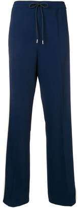 Sportmax Code side stripe tack pants