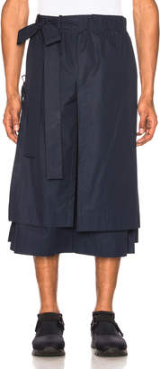Craig Green Layered Cotton Track Shorts