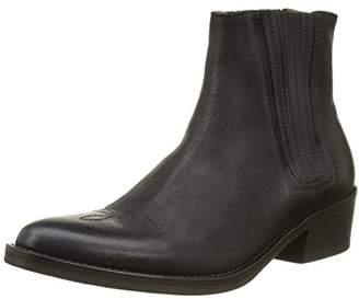 Atelier Voisin Women's Winner Desert Boots, Black (Cire Noir)