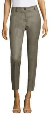 Peserico Zip-Front Pants