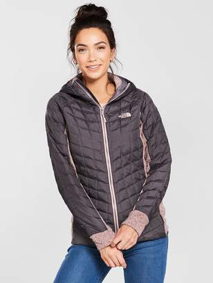 The North Face ThermoballTM Gordon Lyons Hoodie - Grey/Misty Rose