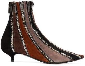 Sonia Rykiel zipped ankle boots