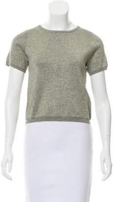 Nicole Miller Lurex Knit Top
