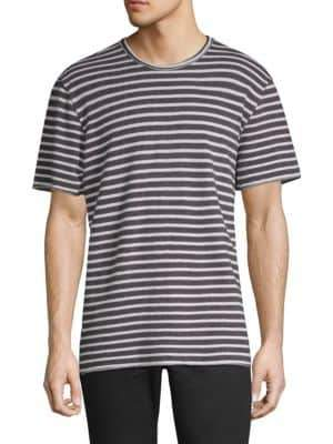 Joe's Jeans Engineered Stripe Tee