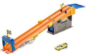 Hot Wheels Mattel Inc. R) - Rooftop Race Garage Play Set