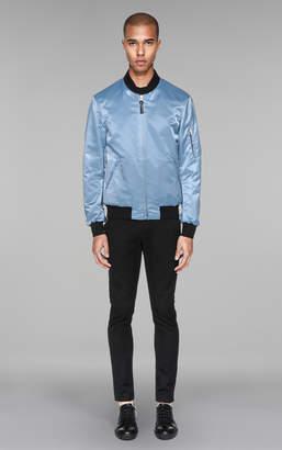Mackage DIMOS Reversible water-resistant satin bomber jacket