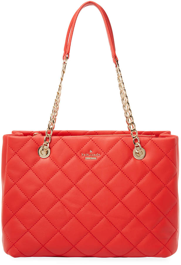 Kate Spade New York Women's Emerson Place Leather Shoulder Bag