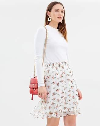 Vero Moda Kay Flower Skirt