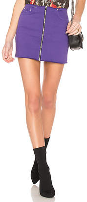 Cotton Citizen Mini Zip Skirt